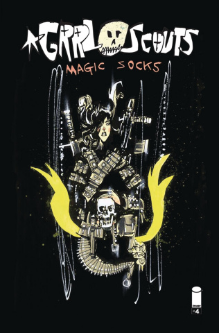Grrl Scouts: Magic Socks #4 (Mahfood Cover)