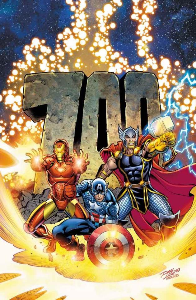 Avengers #10 (Lim Cover)