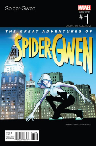 Spider-Gwen #1 (Ramos Hip Hop Cover)