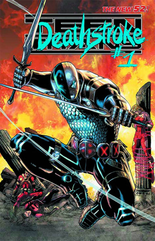 Teen Titans #23.2: Deathstroke Standard Cover