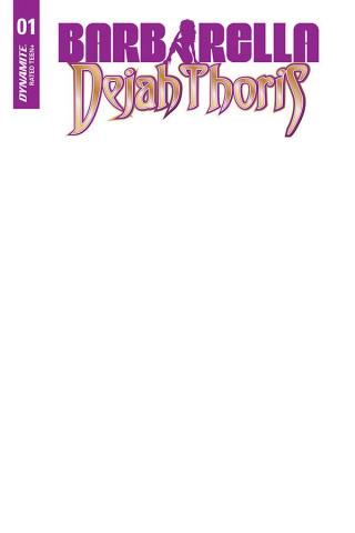 Barbarella / Dejah Thoris #1 (Blank Authentix Cover)