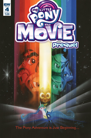 My Little Pony: The Movie Prequel #4 (Price Cover)