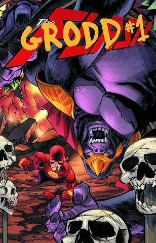 The Flash #23.1: Grodd Standard Cover
