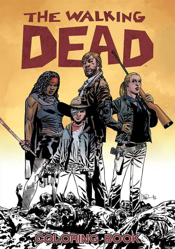 The Walking Dead: Adult Coloring Book
