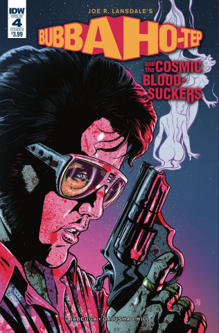 Bubba Ho-Tep and The Cosmic Blood-Suckers #4 (Galusha Cover)