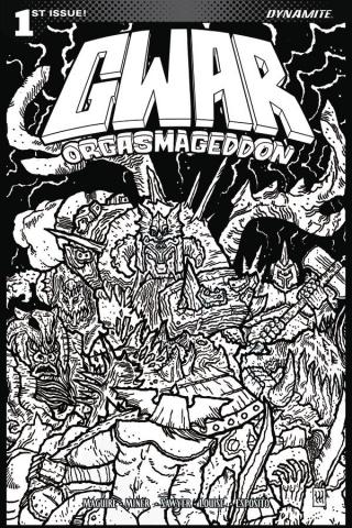 GWAR: Orgasmageddon #1 (10 Copy Wygman Cover)