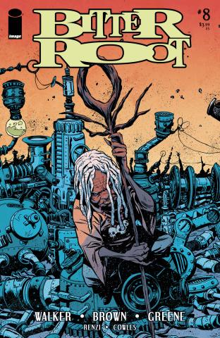 Bitter Root #8 (Greene Cover)