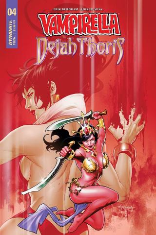 Vampirella / Dejah Thoris #5 (Segovia Cover)