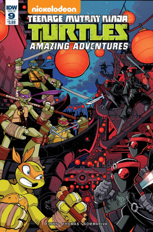 Teenage Mutant Ninja Turtles: Amazing Adventures #9
