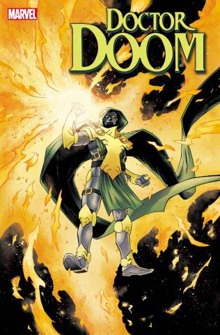Doctor Doom #9 (Shalvey Doctor Doom Phoenix Cover)