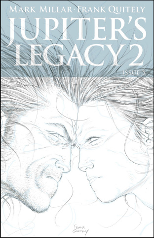 Jupiter's Legacy 2 #5 (25 Copy Quitely Cover)