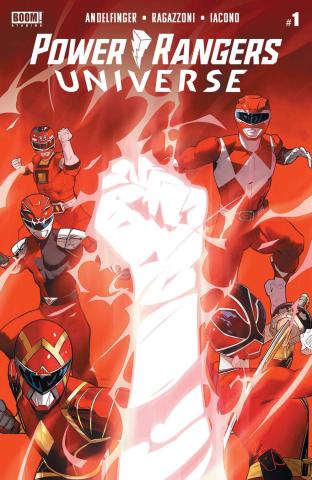 Power Rangers Universe #1 (Mora Cover)
