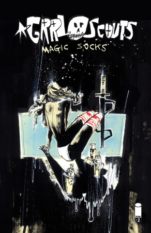 Grrl Scouts: Magic Socks #2 (Mahfood Cover)