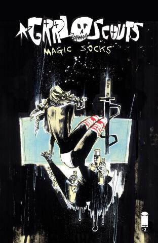 Grrl Scouts: Magic Socks #2 (Mahfood Cover)