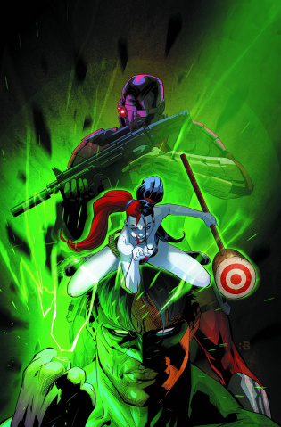 New Suicide Squad #12 (Green Lantern 75th Anniversary Cover)