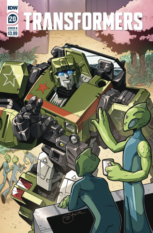 The Transformers #20 (Lawrence Cover)