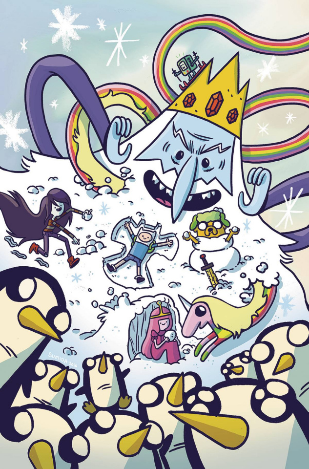 Adventure Time: The Ice King #4 (20 Copy Tosheff Cover)