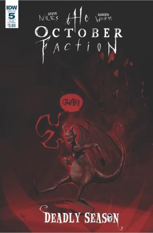 The October Faction: Deadly Season #5 (Subscription Cover)