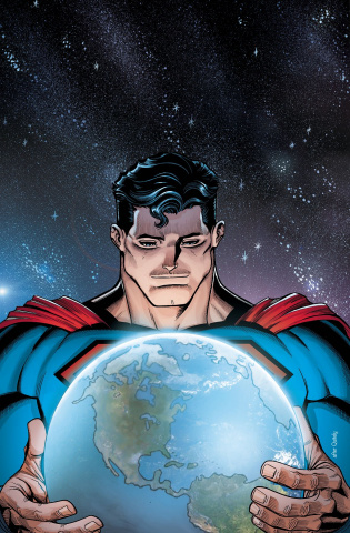 Action Comics #989 (Lenticular Cover)