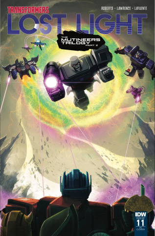 The Transformers: Lost Light #11 (10 Copy Cover)