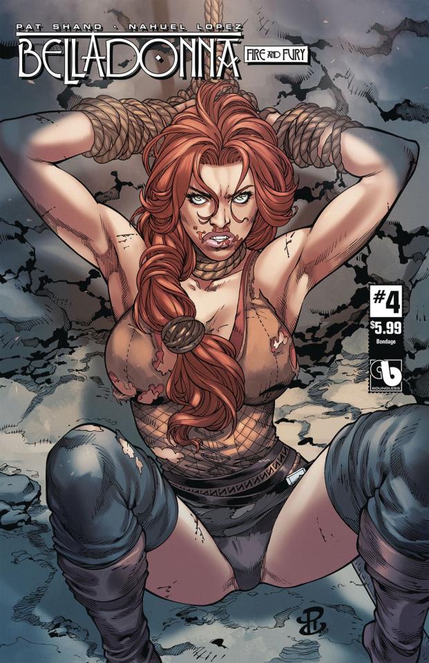 Belladonna: Fire and Fury #4 (Bondage Cover)