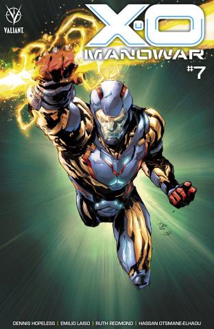 X-O Manowar #7 (Soy Cover)