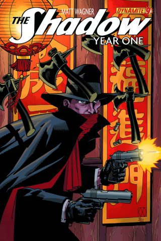 The Shadow: Year One #9 (Wagner Cover)