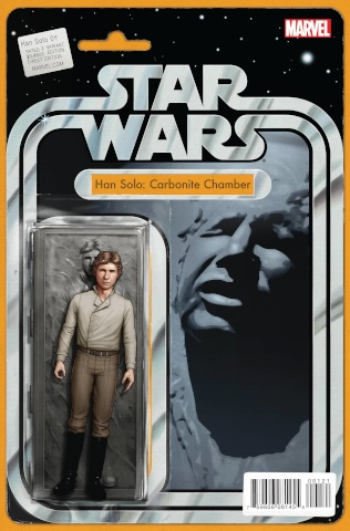 Star Wars: Han Solo #1 (Christopher Action Figure Cover)