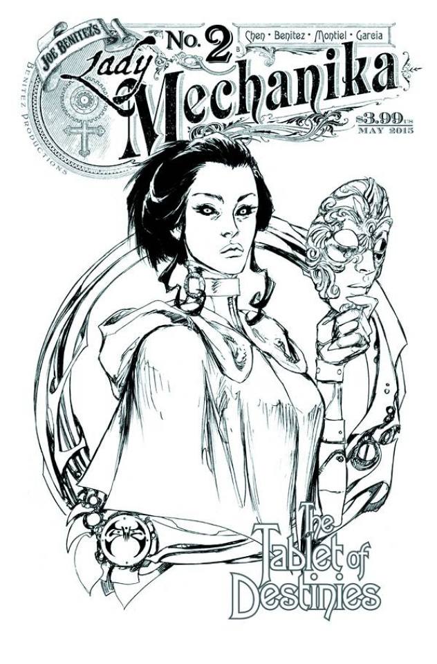 Lady Mechanika: The Tablet of Destinies #2 (10 Copy Cover)