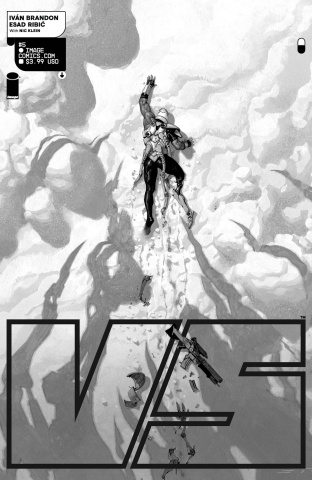 VS #5 (Ribic B&W Cover)