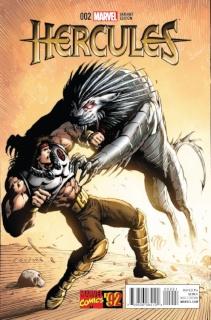 Hercules #2 (Texiera Marvel '92 Cover)