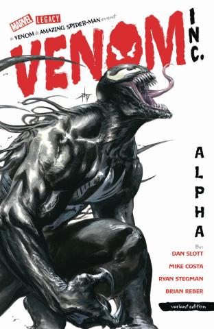 The Amazing Spider-Man: Venom Inc. - Alpha #1 (Dell'Otto Cover)
