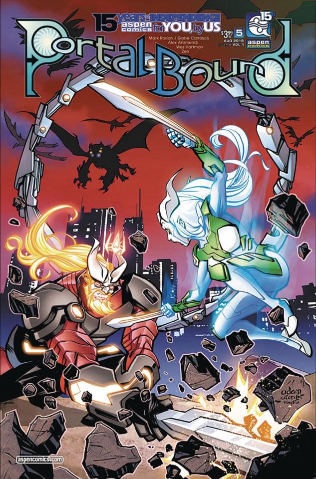 Portal Bound #5 (Archer Cover)