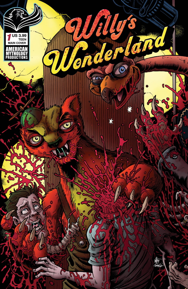 Willy's Wonderland Prequel #1 (Hasson & Haeser Cover)