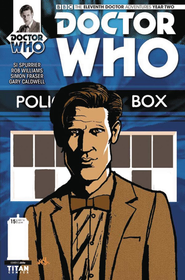 Doctor Who: New Adventures with the Eleventh Doctor, Year Two #15 (Jake Cover)