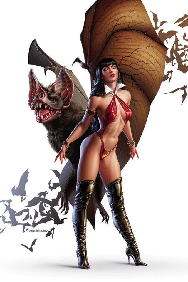 Vampirella #17 (Iakovlev Virgin Cover)