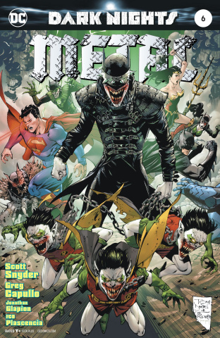 Dark Nights: Metal #6 (Daniel Cover)