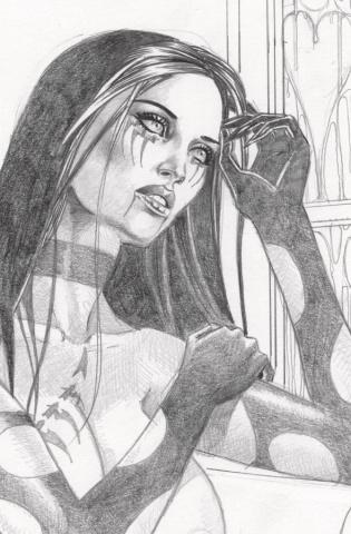 Tarot: Witch of the Black Rose #108 (Litho Edition)