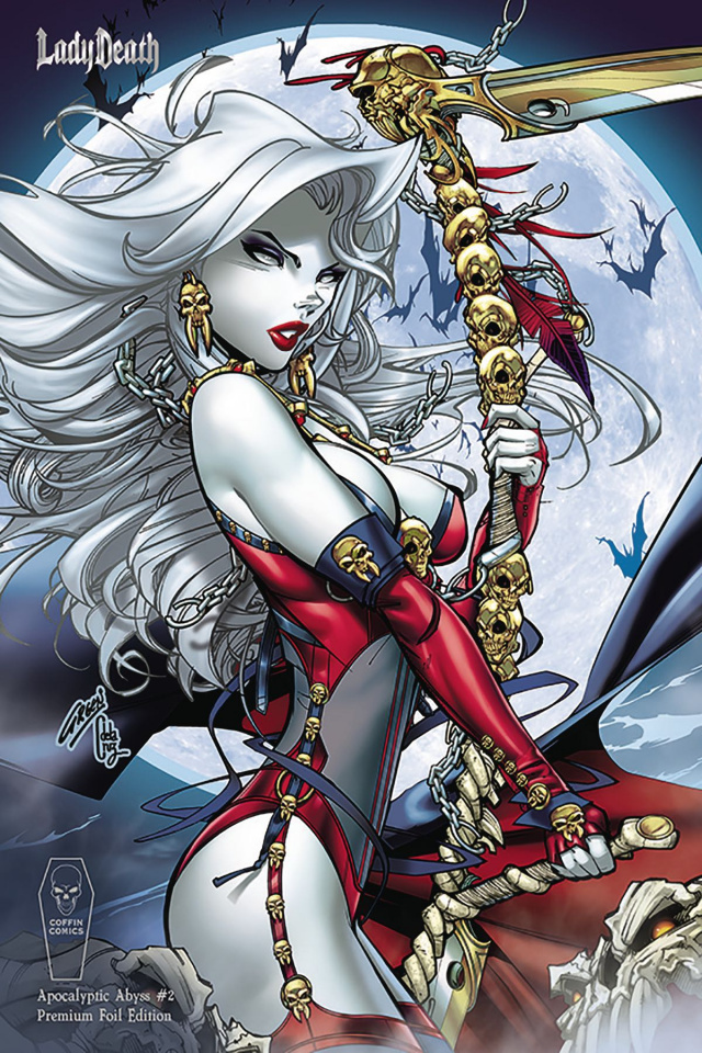 Lady Death: Apocalyptic Abyss #2 (Paul Green Foil Cover)