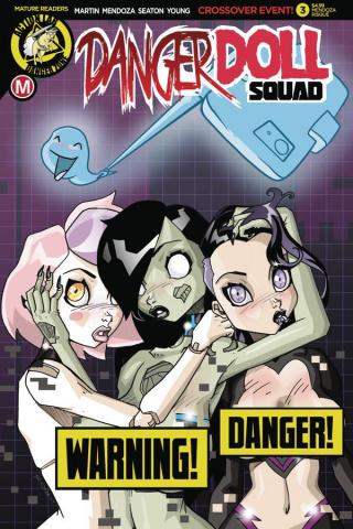 Danger Doll Squad #3 (Mendoza Risque Cover)
