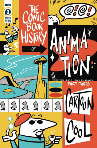 The Comic Book History of Animation #3 (Dunlavey Cover)