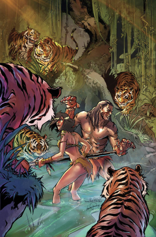 Grimm Fairy Tales: The Jungle Book - Fall of the Wild #3 (Valentino Cover)