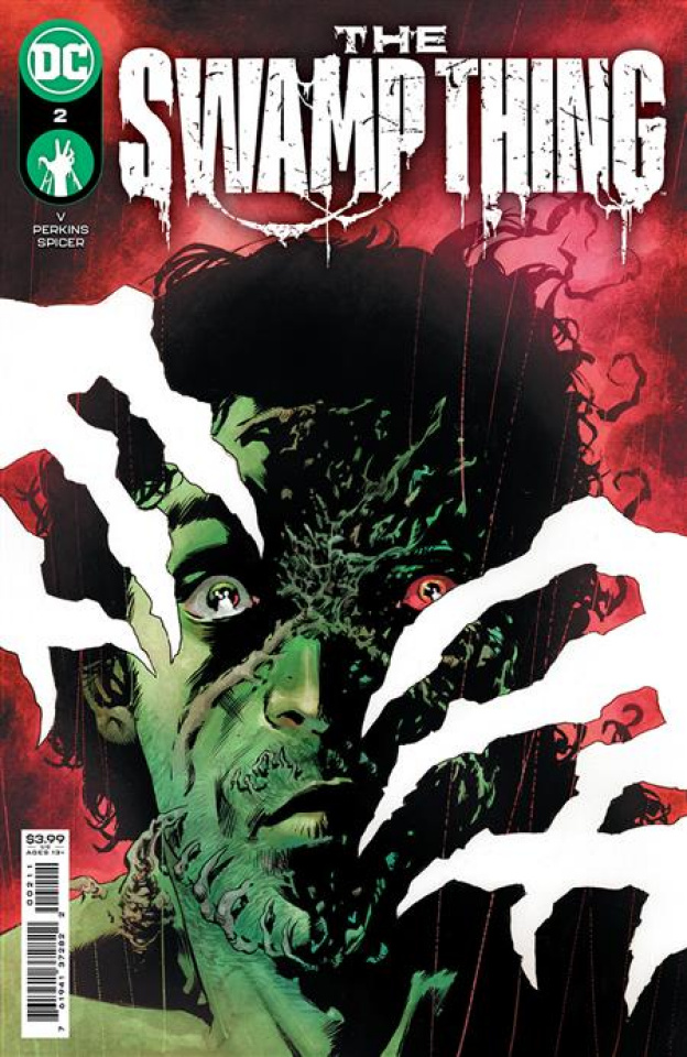 Swamp Thing #2 (Mike Perkins Cover)