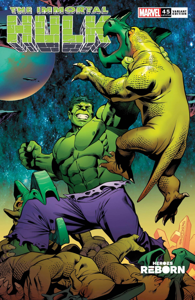 The Immortal Hulk #45 (Pacheco Reborn Cover)