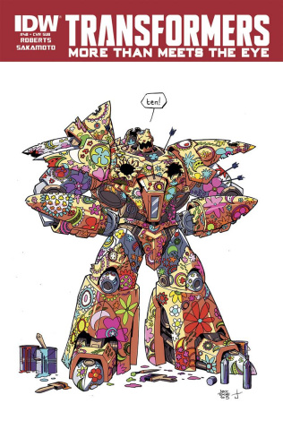 The Transformers: More Than Meets the Eye #48 (Subscription Cover)