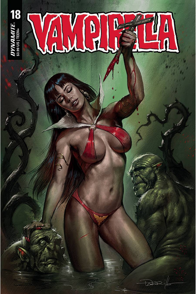 Vampirella #18 (Parrillo Cover)