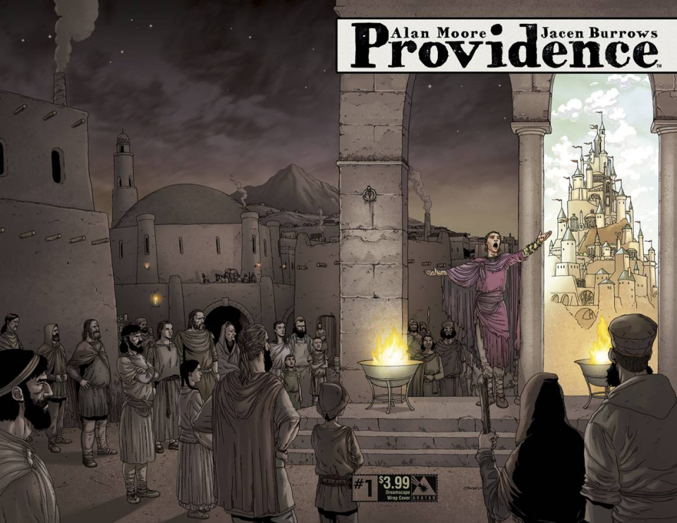 Providence #1 (Dreamscape Wrap Cover)