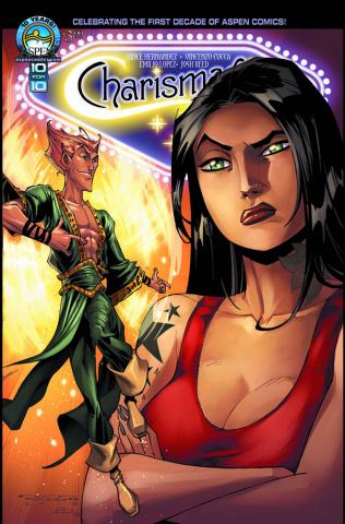Charismagic #2 (Direct Market Cover)