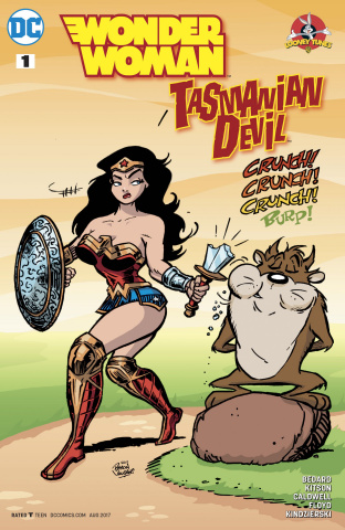 Wonder Woman / The Tasmanian Devil Special #1 (Variant Cover)