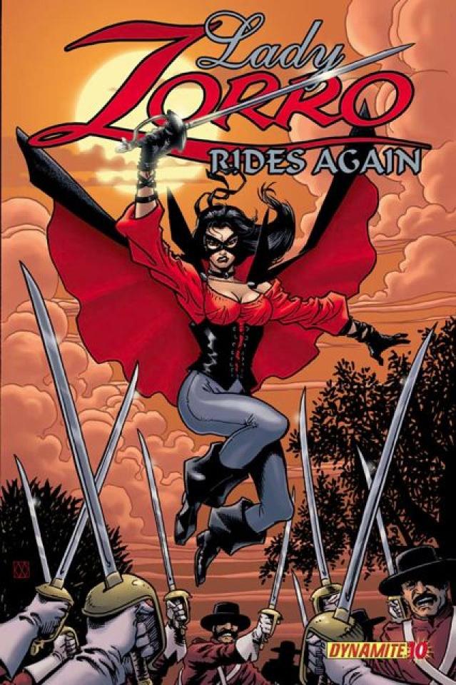 Zorro Rides Again #10